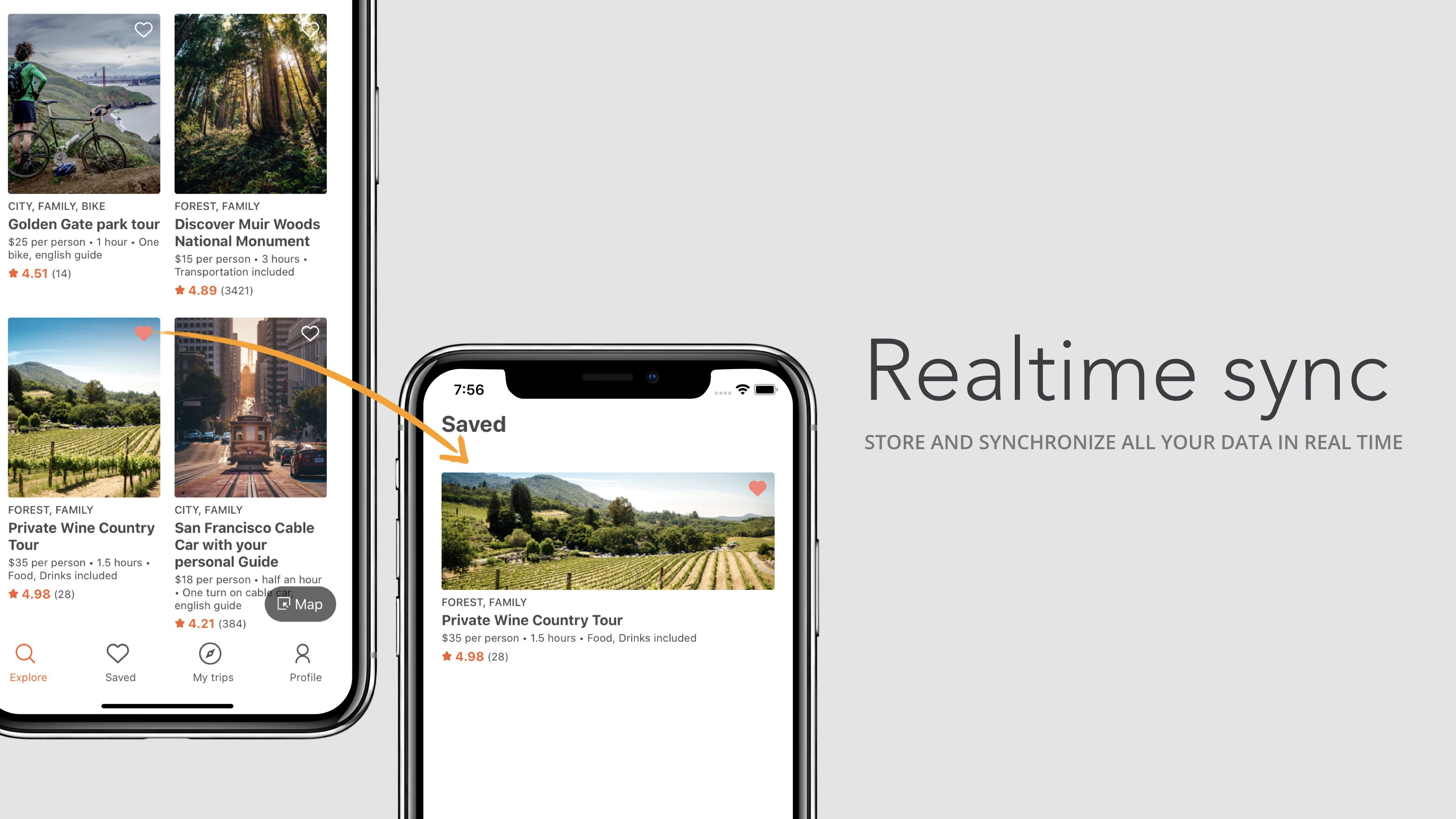 Voyage d'aventure - React Native App - 4